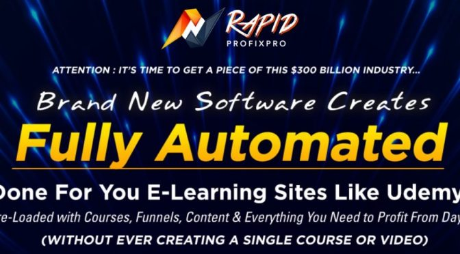 Rapid ProfixPro- Start Generating An Income Now!